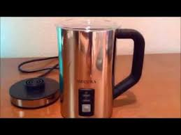 Secura <b>Automatic Electric Milk Frother</b> and Warmer Review - YouTube