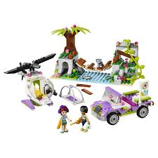 <b>Конструктор LEGO</b> Friends Джунгли: <b>Спасательная операция</b> на ...