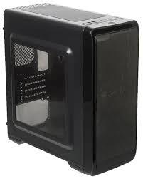 Отзывы Компьютерный <b>корпус ACCORD A-SMB</b> w/o PSU Black ...