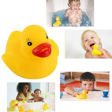 Hot!<b>Funny baby bath toys</b> Soft Rubber Squeaky Ducky Animal Toy ...