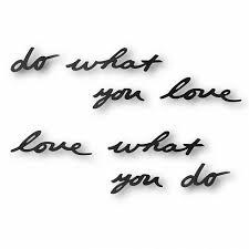 <b>Надпись декоративная Do</b> what you love настенная черная ...
