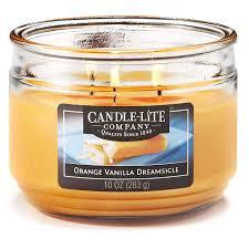 Candle-Lite <b>ароматическая свеча Orange</b> Vanilla Dreamsicle, 283 г