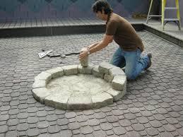 design interior easy outdoor fire pit ideas