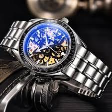 <b>IK</b> Colouring <b>mens</b> skeleton <b>automatic mechanical</b> watches anolog ...