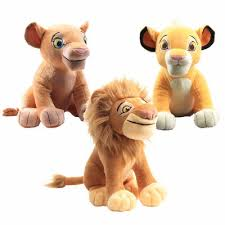 3 Style <b>26cm The Lion</b> King Simba Soft Doll Toy Young Simba ...