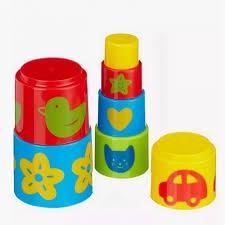 Детская <b>пирамидка</b> Формочки, 7 предметов, <b>Gowi</b>, цена: 849 руб.