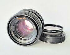 Rollei f/1.8 Camera Lenses for sale | eBay
