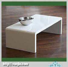 white elegant acrylic perspex coffee table with simple style acrylic perspex furniture