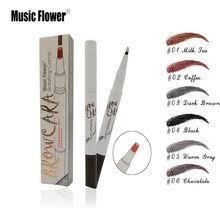 Жидкий <b>карандаш для бровей</b> Music Flower, фирменный макияж ...
