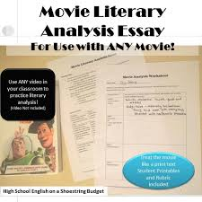 does buying an essay work ASB Th  ringen ideas about Literary Essay on Pinterest Use the literary analysis process to analyze a movie Includes printables to scaffold high