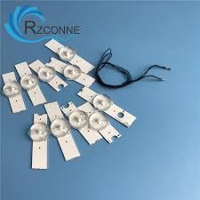25pcs Aluminum <b>Led</b> Strips 3v Bulbs Diodes <b>32 65 inch</b> Optical ...