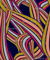 Twisted <b>Geometry</b> - Wavy <b>Stripes</b> by Veneta Danailova Seamless ...
