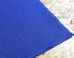 decor linen fabric multiuse: plain cobalt linen fabric cobalt blue decor blue home decor linen fabric blue fabric uk seller blue curtain fabric cobalt blue fabric