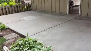 seal concrete patio concrete patio new look stain sealer colored sealer