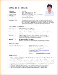 4 latest cv format sample ledger paper my latest cv by armando30