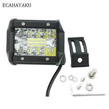 <b>ECAHAYAKU</b> 4inch LED Work Light Bar <b>60W</b> Beam 12V 24V Off ...