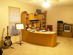 large upstairs bedroom currently used as a office and music room bedroom with office