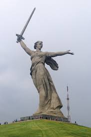 the motherland calls construction and dedication edit