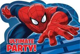 Spider <b>Hero</b> Dream Party Invitations in 2019 | Spiderman, Animated ...