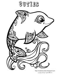 Small Picture DOLPHIN coloring pages for adults Google Search coloring