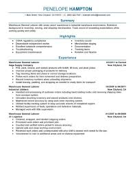 resume general labor worker cipanewsletter resume for labor job resume pdf