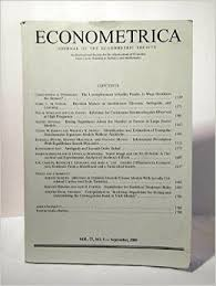 Bildresultat för econometrica