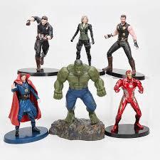 <b>8pcs</b>/<b>set Marvel</b> the <b>Avengers</b> endgame Infinity War Thanos Iron ...