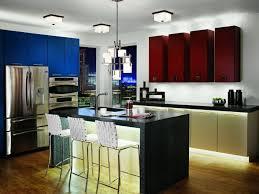 baffling strip led kitchen black kitchen lighting