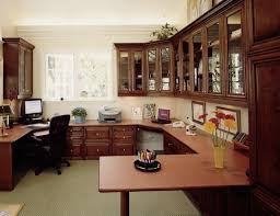 arranging traditional cabinetry corner desk chair idea for home office design traditional built home office designs
