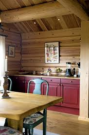 cabinets uk cabis: small log cabin kitchen with burgundy maroon cabinets decorating ideas burgundy decor