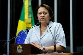 Resultado de imagem para senadora fatima bezerra fotos