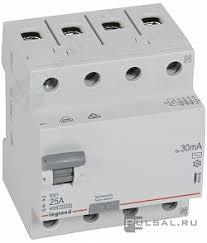 402062, <b>Выключатель дифференциального тока</b> (УЗО) RX³, 4 ...