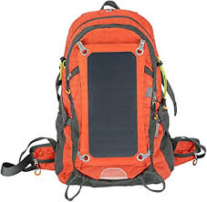 <b>Solar</b> Backpack With Usb <b>Charging</b> Port Daypack 1.8l Hydration Bag ...