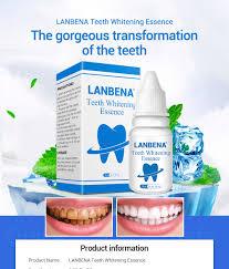 LANBENA <b>Teeth Whitening Essence</b> Powder Oral Hygiene ...