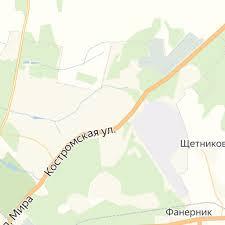 Где находится <b>Кострома</b>. Расположение <b>Костромы</b> (<b>Костромская</b> ...