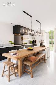 sur natural dining table