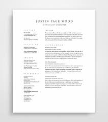 resume templates simple resume classic resume by jpwdesignstudioresume templates  simple resume  classic resume  instant download  professional template  clean