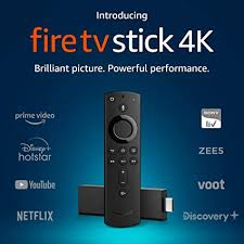 Fire <b>TV Stick</b> 4K with All-New Alexa Voice Remote | Streaming ...