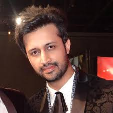 Atif Aslam eye color: Light brown. Atif Aslam hair color: Black. Atif Aslam shoe size / feet size: 10. Atif Aslam chest size: 38 inches - atif-aslam