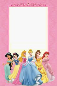 disney princess party printable mini kit editable is it invitation