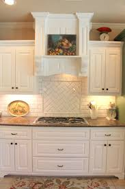 Backsplash Kitchen Tile Subway Or Morrocan Tile Backsplash With White Cabinets Tile