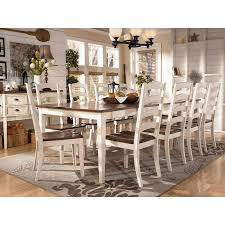 ashley furniture kitchen tables: whitesburg formal dining room set w  chair choices signature design by ashley furniturepick