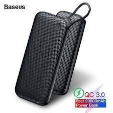 <b>Baseus 20000mAh</b> Quick Charge 3.0 <b>Power Bank</b> For Xiaomi Mi ...