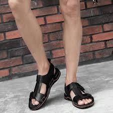 BIMUDUIYU <b>Classic Men Soft Sandals</b> Comfortable Men Summer ...