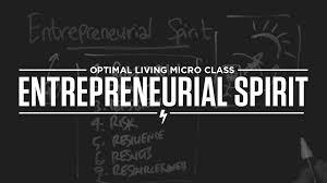 entrepreneurial spirit optimize micro class video cover