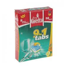Frau Gretta 9 в 1 <b>таблетки для</b> посудомоечной машины — купить ...