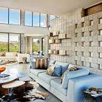 animal hide rug family room modern with large windows unique wall animal hide rugs home office