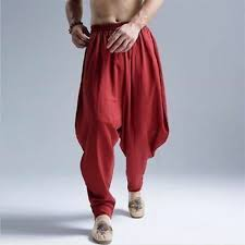 <b>Fashion Cotton Linen Harem</b> Pants Men's Jogger Pants Fitness ...