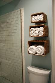size bathroom wicker storage: three rattan diy small bathroom storage ideas above toilet and white bathroom wall tiles