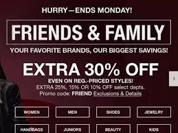 Macy's: <b>30</b>% <b>off</b> Friends & Family coupon through Monday :: WRAL ...
